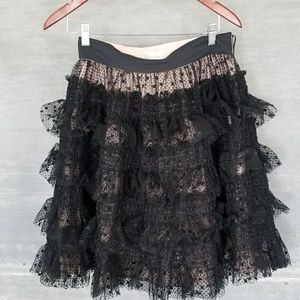Red Valentino Lace Skirt Size 8